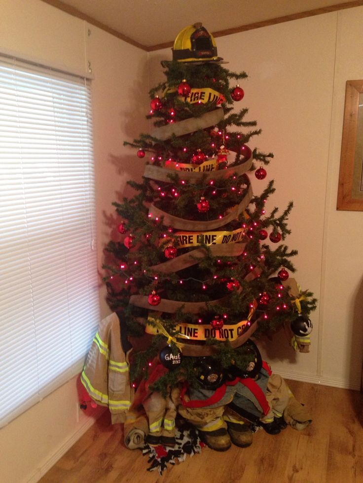 Firefighter Christmas Tree