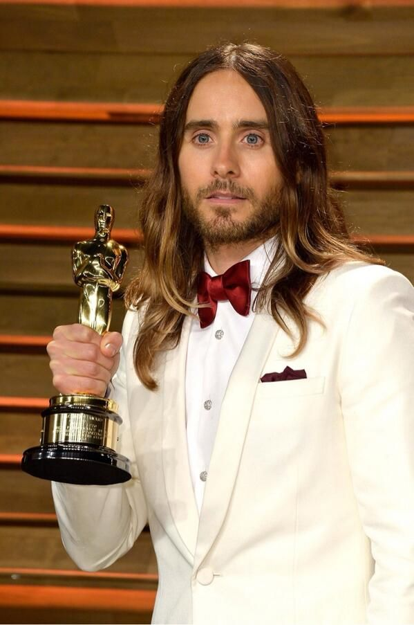 Jared Leto wins Best Supporting Actor at Oscars 2014