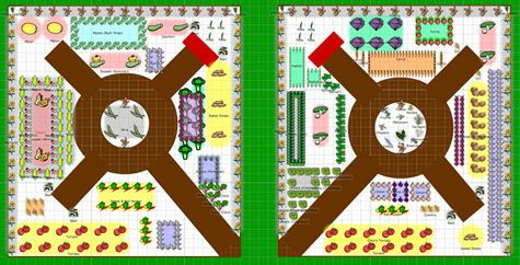 Our Vegetable Garden Planner  not only allows you to plan your garden layout, but it also gives you planting times for all the crops you plan to grow based on your location's frost dates. From MOTHER EARTH NEWS magazine.