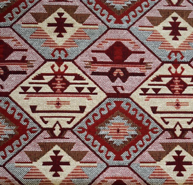 Tribal Fabric,Ethnic Fabric,Kilim Fabric,Carpet Fabric,Geometric Fabric,Woven Fabric,Turkish Fabric,Cotton Fabric,Upholstery Fabric by GFcraft on Etsy