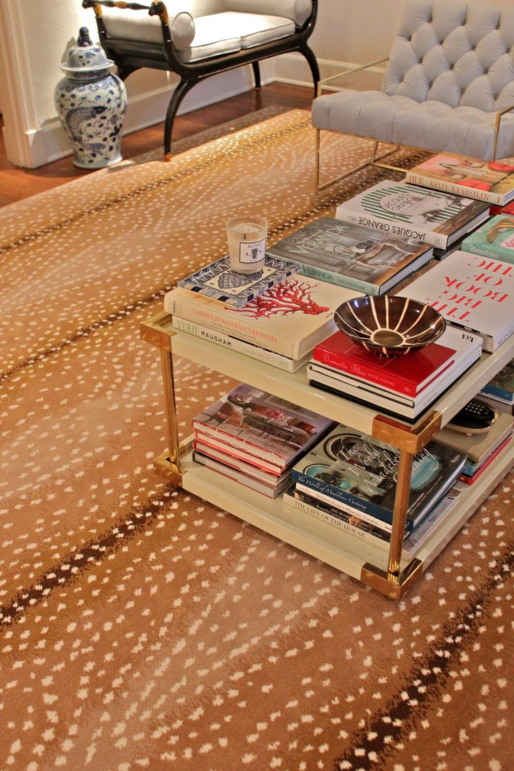 Details | Amy Berry  love the coffee table covered with STACKS of books!