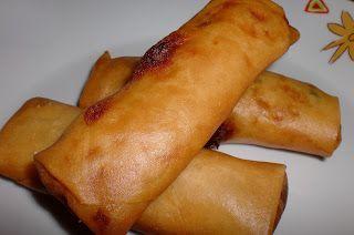 MAYTE EN LA COCINA: 250° receta: ROLLITOS DE PRIMAVERA CHINOS CASEROS