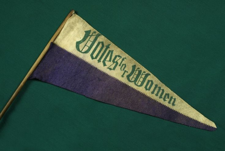 The Childrens Museum of Indianapolis - Votes for women pennant - Women's suffrage in the United States - Wikipedia, the free encyclopedia