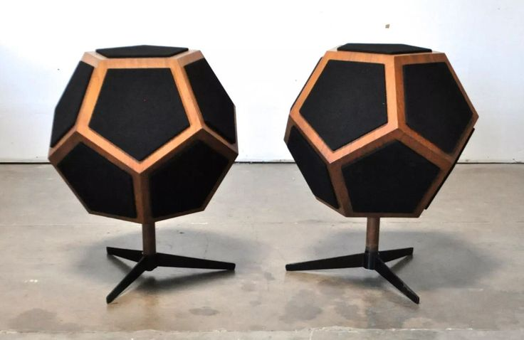 Design Acoustics Vtg Mid Century Modern Omni Directional