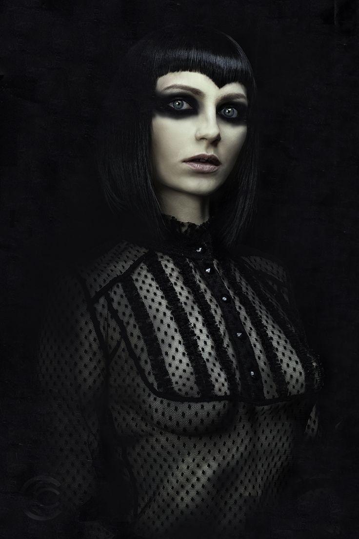 Modelka: Sandra, Fotograf: Krystian Chrzanowski #chrzanowskiart #blackandwhite #agnecy #test # polaroid #session #sesja #sesjafoto #photo #model #girl #polishgirl #beauty #portrait #fashion #bw #face #insta #photo #photography #art #retouch #dark #beautiful #woman #glam