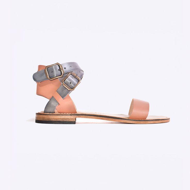 Dept. Of Finery - Tropea Sandal - Blush/Grey