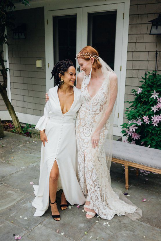 High Style Luxurious Weed Wedding Ideas Claire Eliza Herstory Sarah Seven Dresses Alyson Nicole Bridal Accessories Sparkling Gold