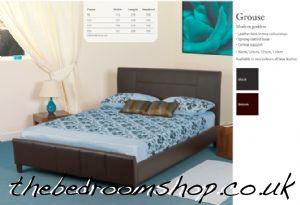 Grouse Contemporary Bedframe