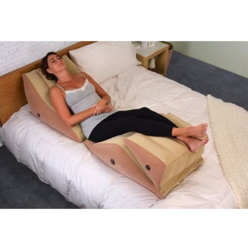 Large Inflatable Body Wedge Foam Pillow Acid Reflux Back