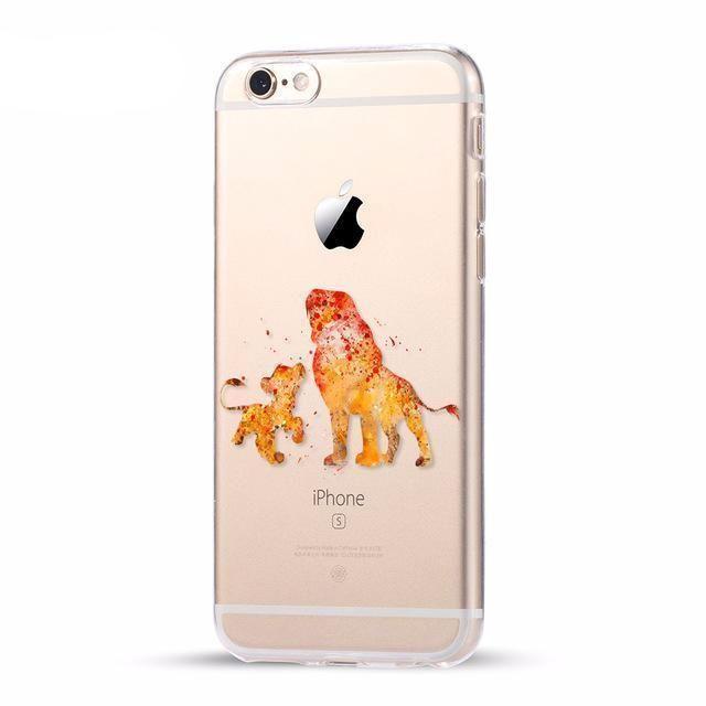 coque iphone 7 mufasa
