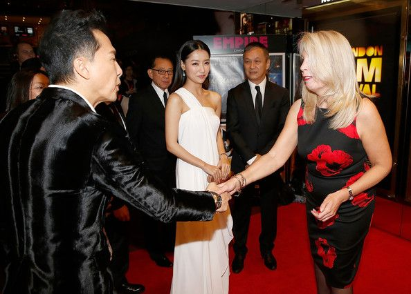 Donnie Yen and Michelle Bai Photos Photos - Donnie Yen, Michelle Bai, Teddy Chan and Amanda Nevill attend the red carpet arrivals of 'Kung Fu Jungle' during the 58th BFI London Film Festival at Empire Leicester Square on October 12, 2014 in London, England. - 'Kung Fu Jungle' Premiere