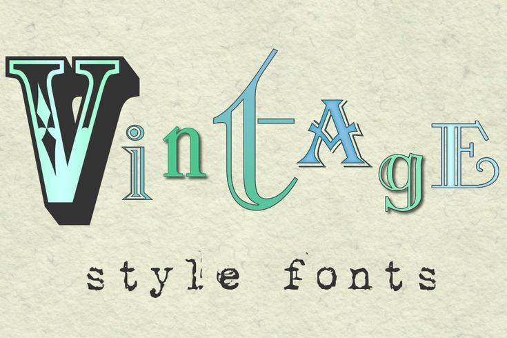 Vintage Modern Font | now when you read vintage you might well think oh no not more vintage ...