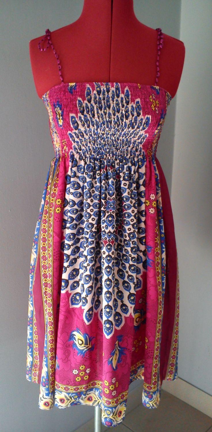 sukienka na gumeczkach