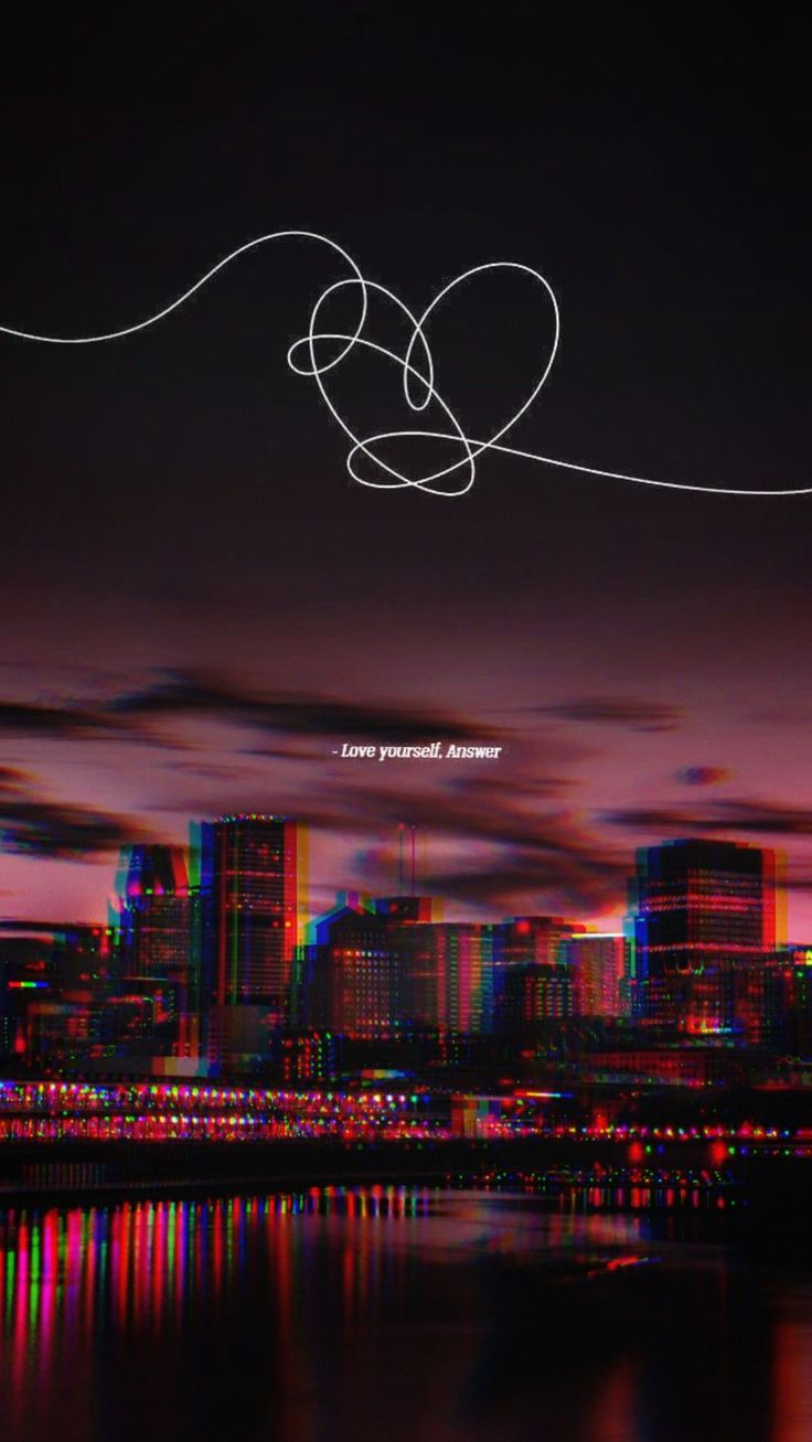 BTS 방탄소년단 Wallpaper Love Yourself Answer  BTS 방탄소년단 Wallpaper ✨ in 2019 | Bts wallpaper, Bts wallpaper lyrics, Bts qoutes
