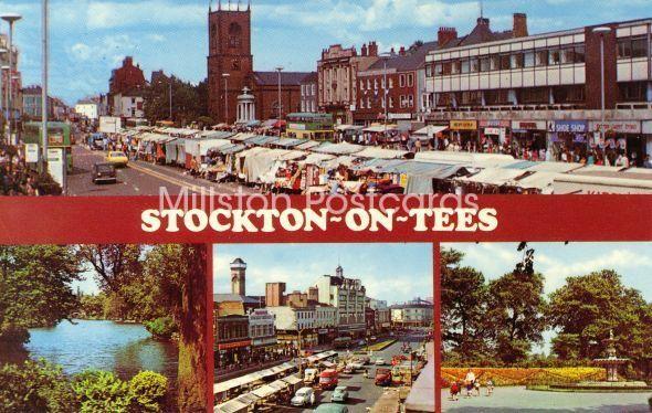 Postcard from Stockton on Tees