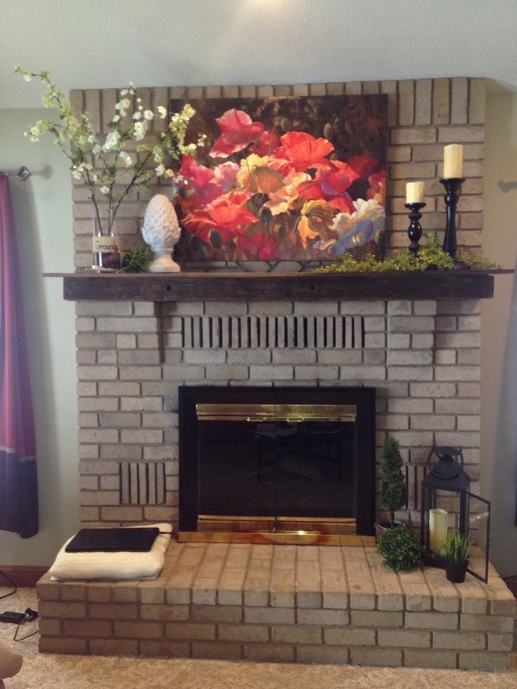 Images About Fireplace Decor Ideas On Pinterest Country Fireplace