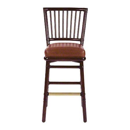 McGuire Furniture: Orlando Diaz-Azcuy Prescott Bar/Counter Stool: No. O-340