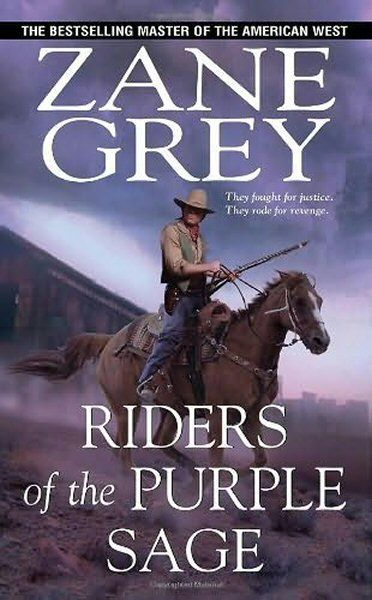 """""""This story's got love, violence, cries of """"Take me!"""", horse rustlers and a gun-slinging avenger as a hero"""" - Fiona Wilson reviews Riders of the Purple Sage by Zane Grey"""