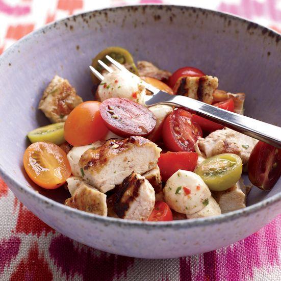 Chicken Caprese Salad Recipe | Food & Wine