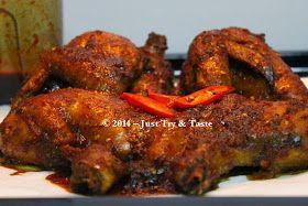 Just Try & Taste: Ayam Panggang Kecap Nan Spicy