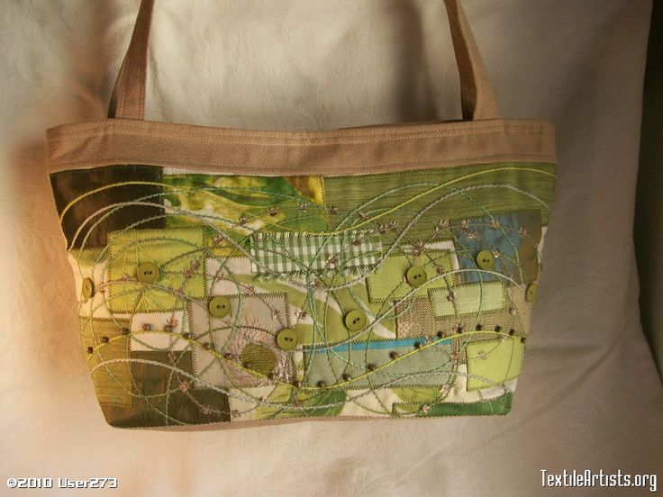 someone, somewhere in the world, owns this bag I made - amazing!