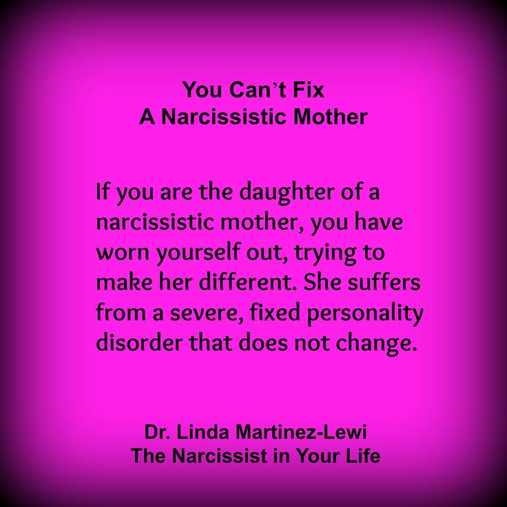 Dealing With A Narcissistic Daughter In Law
