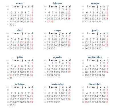 Calendario con Feriados 2017 en Venezuela ~ Feriados y Asuetos 2016 …