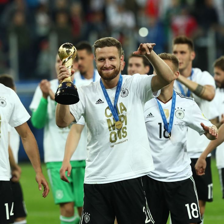 "163k Likes, 288 Comments - Arsenal Official (@arsenal) on Instagram: ""#Shkodran #Mustafi #Germany #ConfederationsCup 🇩🇪🏆"""