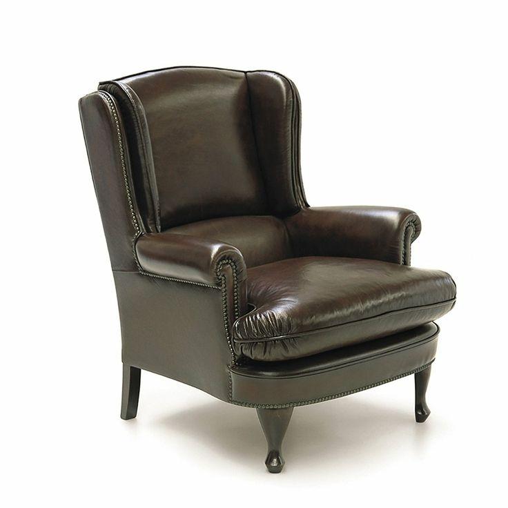 Butaca de piel chelsea sofas y butacas de - Sofas de cuero ...