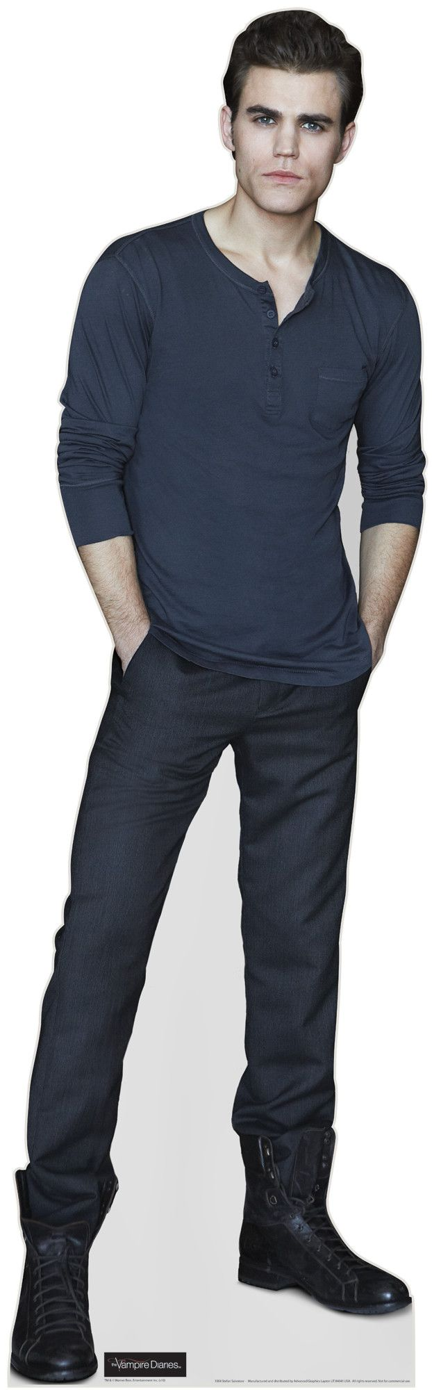 Stefan Salvatore from Vampire Diaries Cardboard Standup