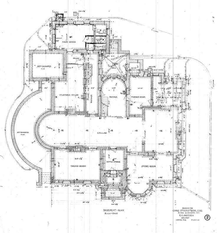 1201 Best Architectural Floor Plans Images On Pinterest | Mansions