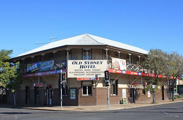 Old Sydney Hotel, Maryborough, Qld.