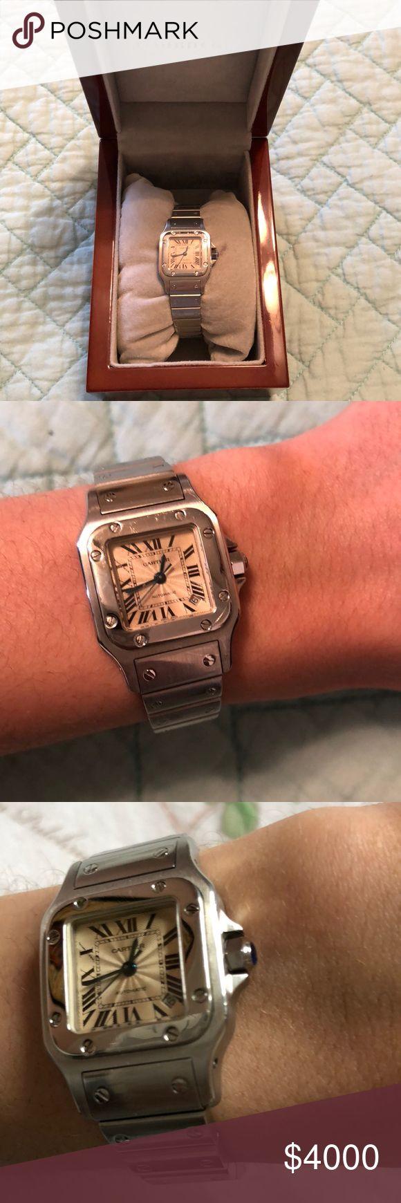 Santos De Cartier Galbee Watch small, steel Small, modest, quartz movement Cartier Accessories Watches