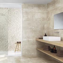 Afbeeldingsresultaat voor wit groene badkamertegels