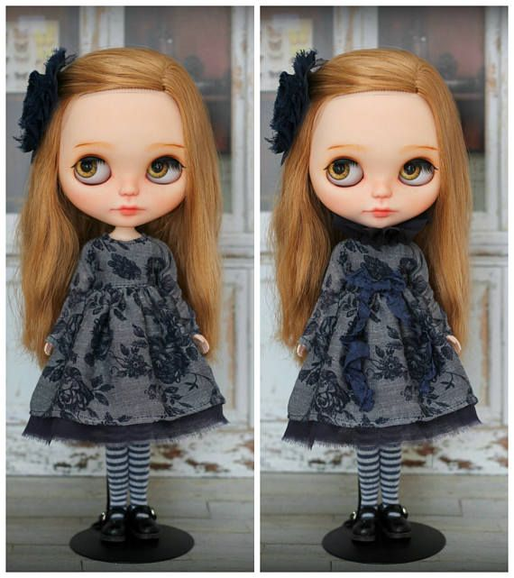 Dress with stockings  for Blythe / Azone pure neemo M/S and