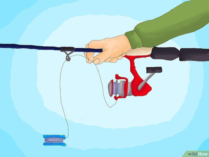 3 formas de poner un hilo nuevo en el carrete de la caña de pesca