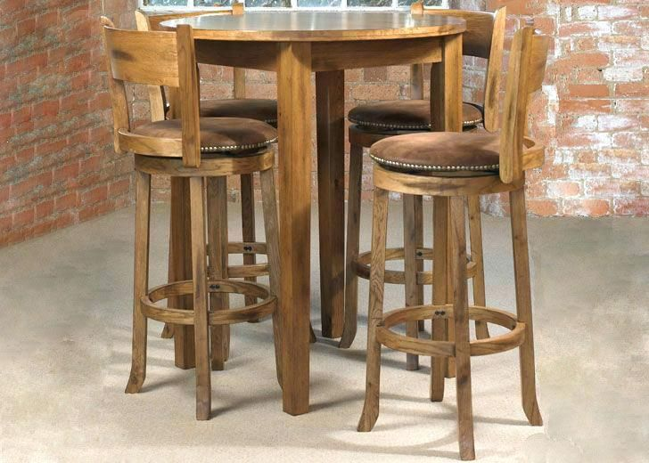 Rustic Pub Table Sets Gorgeous Bistro And Chairs With Pertaining