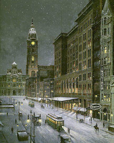 Old Philadelphia, Market Street