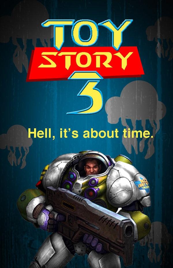 Toy Story 3 Starcraft version by reloadfreak.deviantart.com