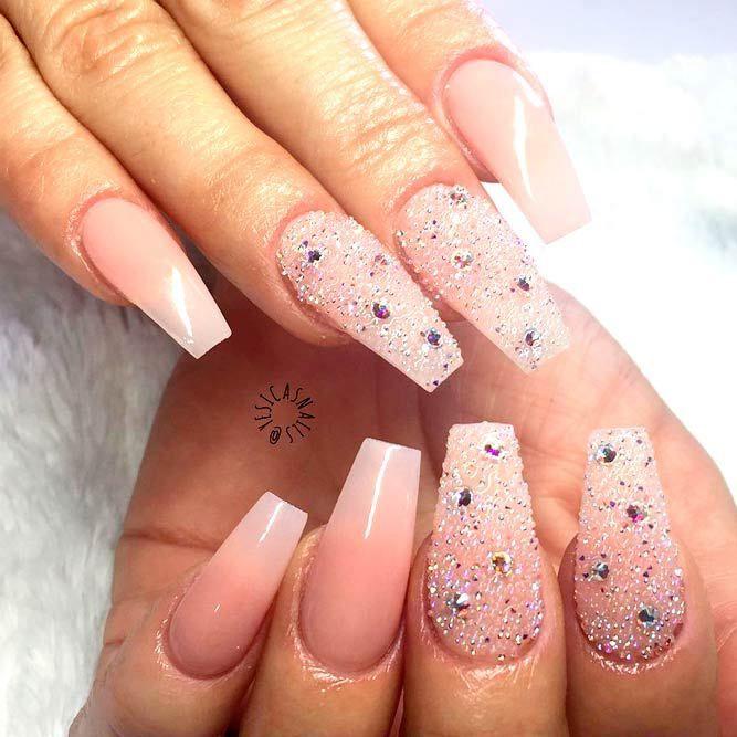 77 Designs For Trendy Gel Nails Polish Colors 2018 Gel Nail