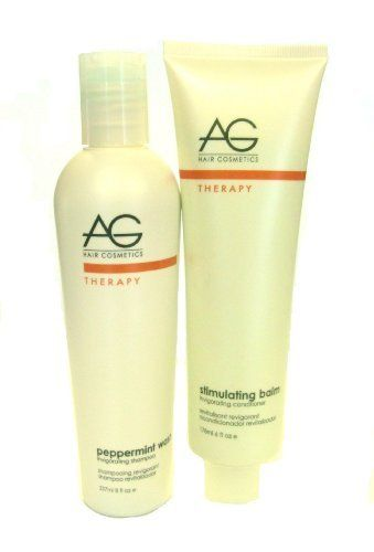 AG Shampoo Peppermint Wash Shampoo & Stimulating Balm Conditioner by AG. $32.95