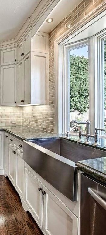 Captivating Kitchen Sink Idea And Window