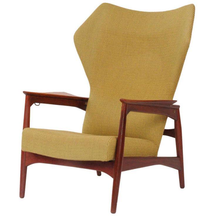 Ib Kofod  Larsen Reclining Chair Ca1950