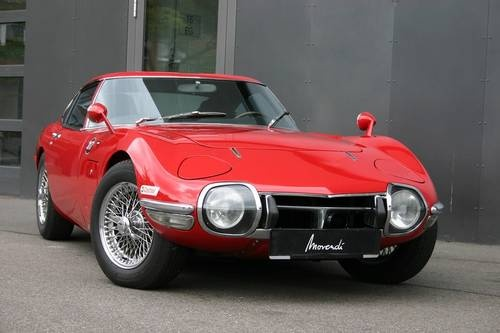The timeless design of the Toyota 2000GT