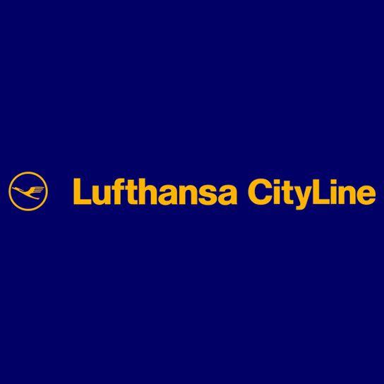 Lufthansa CityLine Logo. (GERMAN).