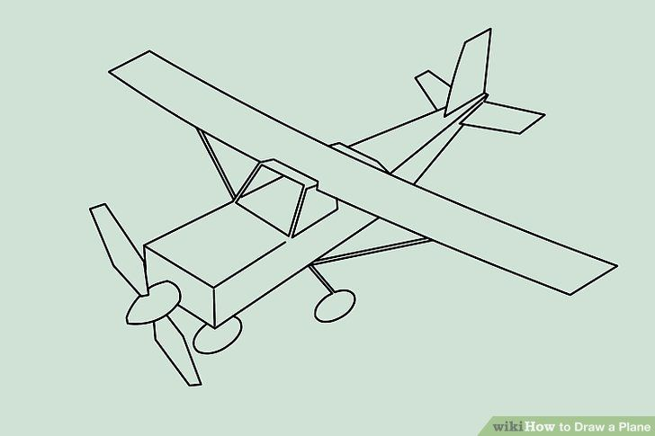 Image result for airplanes ww1 easy drawings