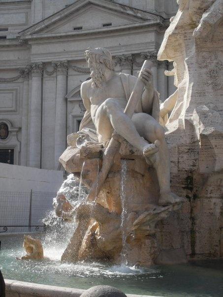 Piazza Navona. Roma.