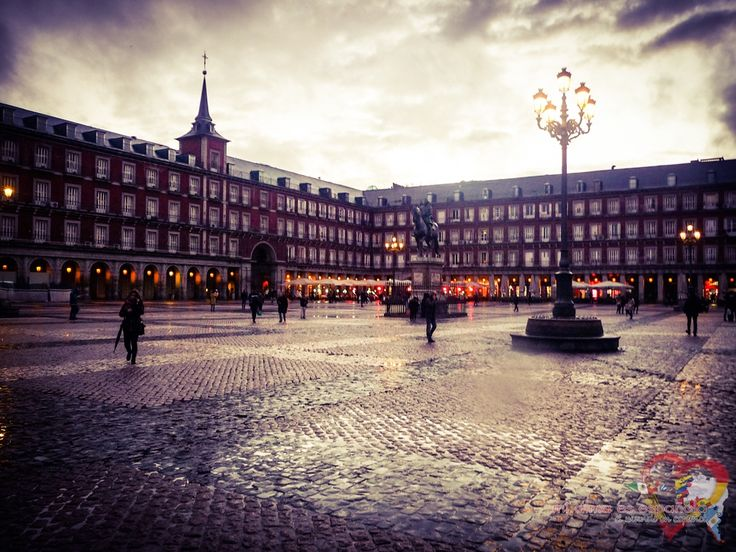 Plaza Mayor de Madrid. Spain.