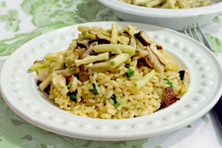 how to make risotto not yellow