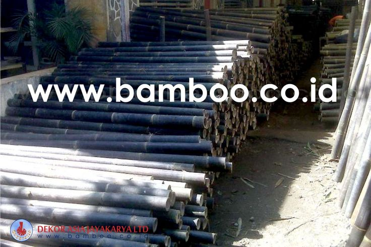 Bamboo Pole - Bamboo Indonesia